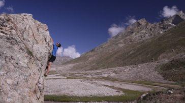 Base camp bouldering